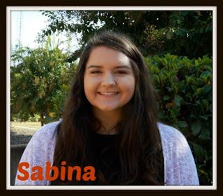 Sabina smiling
