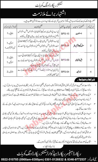 Join Pak Army Civilian Jobs 2021