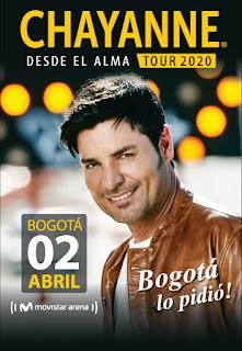 Concierto CHAYANNE en Colombia - Bogotá 2020