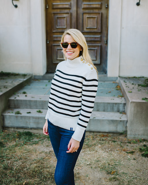 classic nautical fall sweater