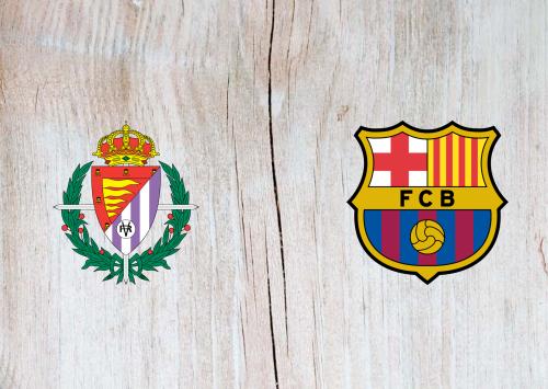 Real Valladolid vs Barcelona -Highlights 22 December 2020