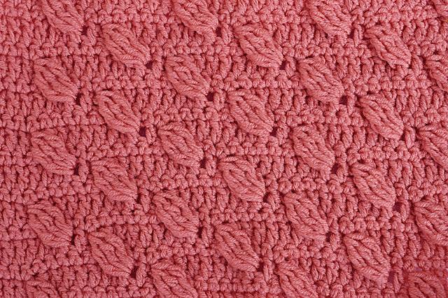 4-Crochet Imagenes Puntada de hojas a relieves a crochet y ganchillo por Majovel Crochet