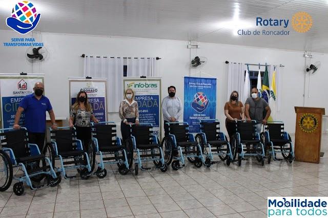 O Rotary Club de Roncador continua fazendo a diferença!