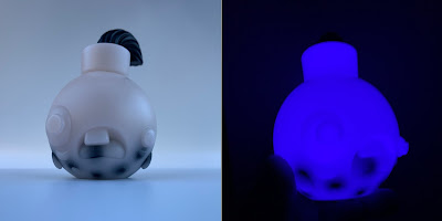 Tenacious Toys Exclusive Not So Smart Boba Bomb Glow in the Dark Resin Figure by Resin Rookie