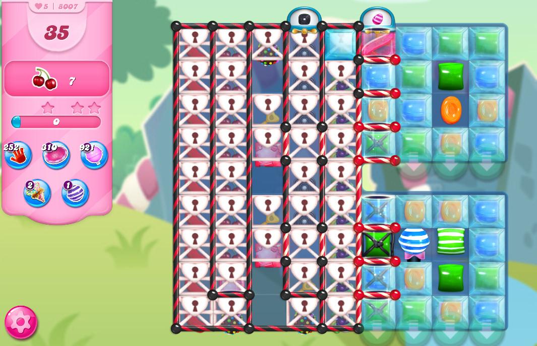 Candy Crush Saga level 8007
