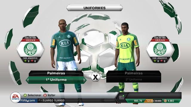 FIFA 14 pode contar com segunda divisão devido a queda do Palmeiras