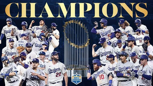 The Los Angeles Dodgers are World Series champions for the first time since 1988.