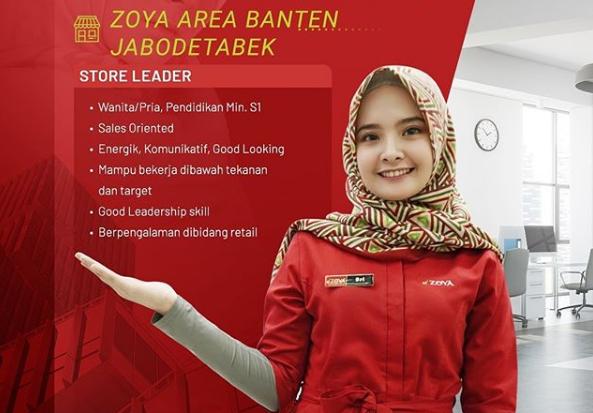 Lowongan Kerja Store Leader Shafira Corporation Penempatan Zoya Area Banten dan Jabodetabek