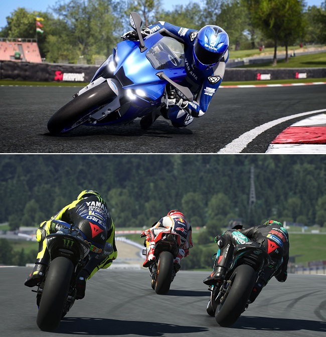 Differences of Ride 4 vs MotoGP 21