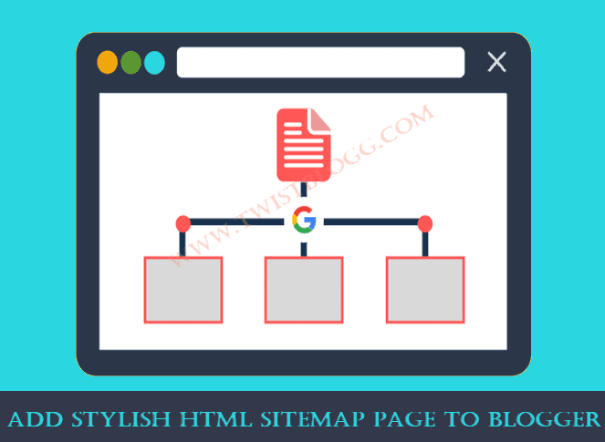 STYLISH SITEMAP PAGE FOR BLOGGER