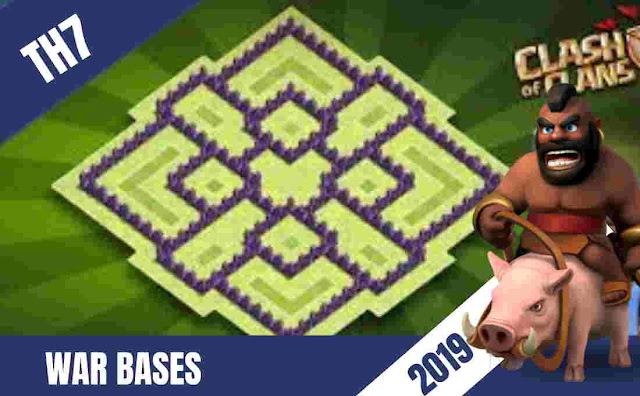 Th7 War Bases That No One Can Beat | Anti Everything(15+) August 2019, Th7 war base, town hall 7 war base, th7, th7 bases, th7 war base 2019