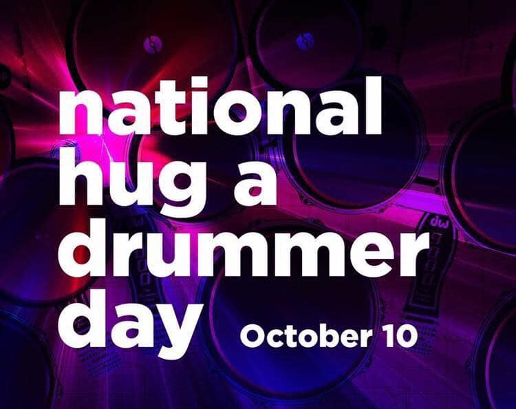 National Hug a Drummer Day Wishes Beautiful Image