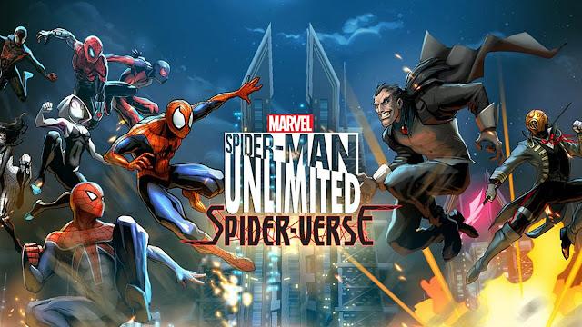Spider Man Unlimited v2.6.0b APK Data Obb Full
