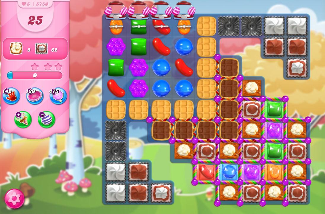 Candy Crush Saga level 5750