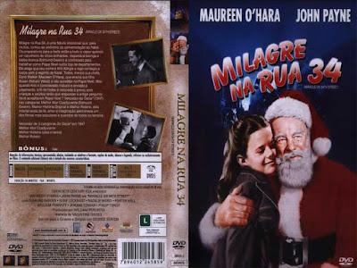 Filme Milagre na Rua 34 (Miracle on 34th Street) 1947 DVD Capa