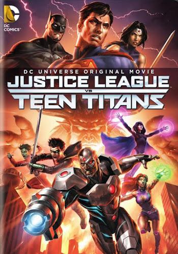 Justice League vs. Teen Titans (BRRip 1080p Dual Latino / Ingles) (2016)