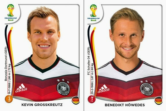 516b18951 Panini - 2014 FIFA World Cup Brasil Sticker Collection (21) - Germany Update