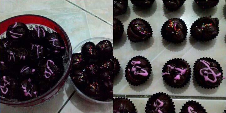 Resep Kue Kering Coco Crunch Siram Coklat Tanpa Oven Dapur