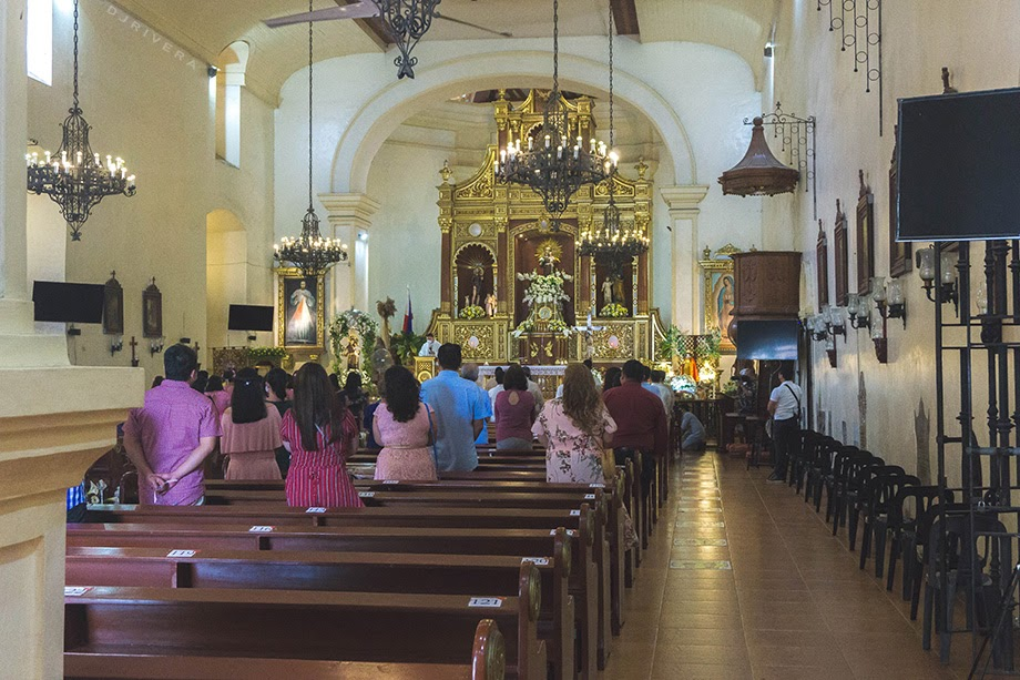 Inside Pila Church