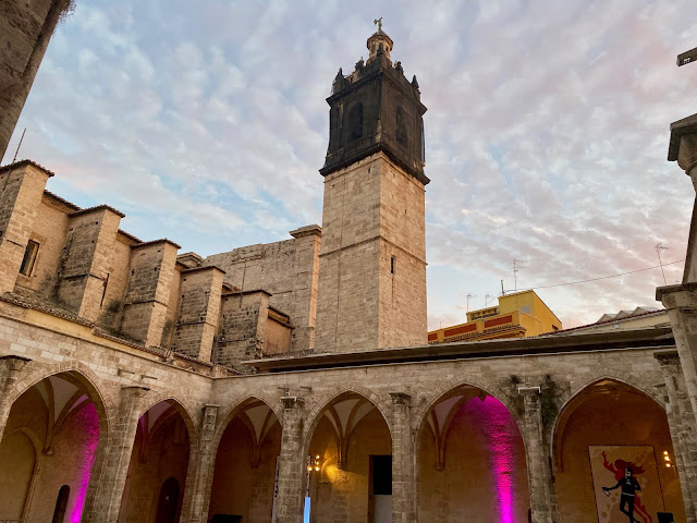 Centre del Carme art exhibition space in Valencia, Spain