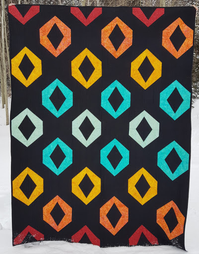Hollow Jewels Quilt Pattern