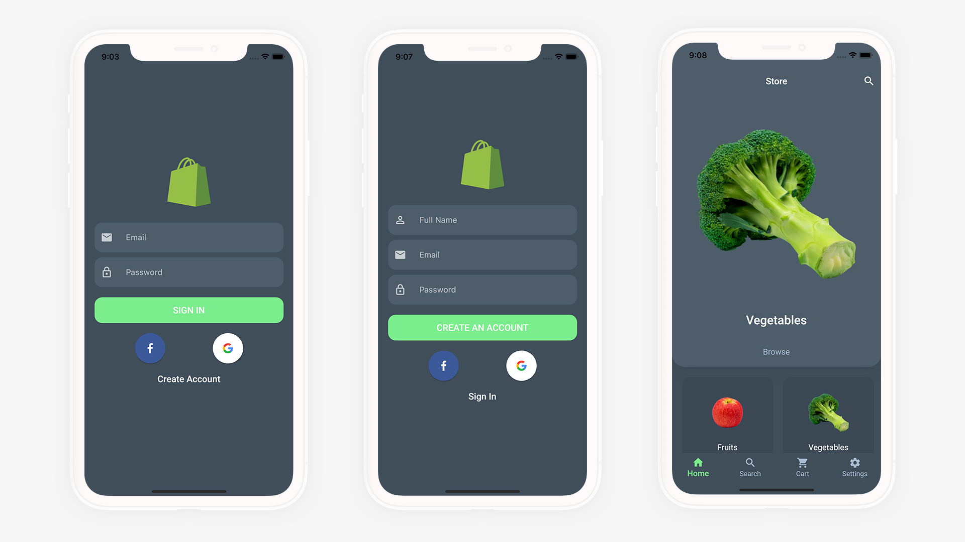 Flutter Grocery: Full Android + iOS eCommerce App - 14