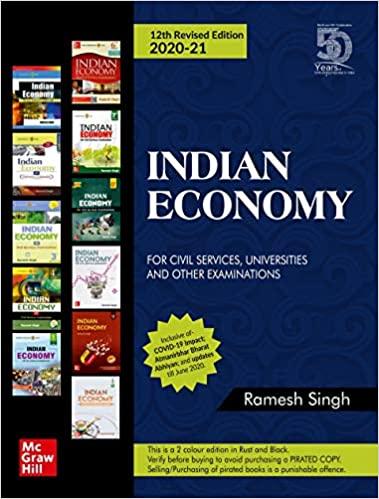 Indian Economy by Ramesh Singh