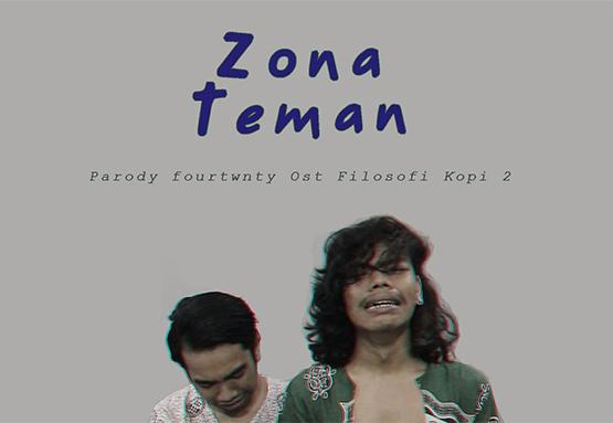 Lirik Lagu Kery Astina - Zona Teman (Parodi Zona Nyaman Fourtwnty)