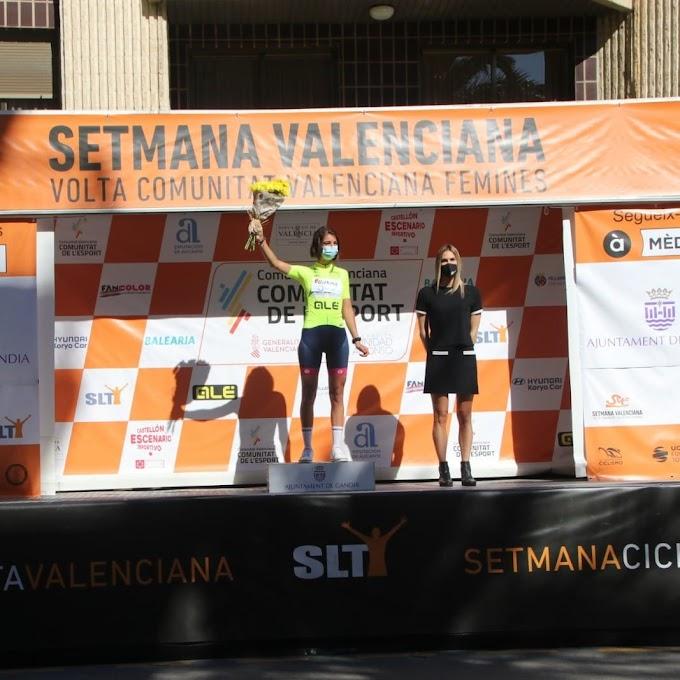 Buen papel para el Bizkaia - Durango en la primera etapa de la Setmana Ciclista Valenciana