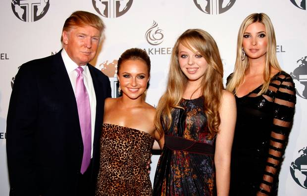 Donald Trump's daughters Ivanka and Tiffany claim their father 'empowers and inspires women'