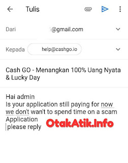 send email to cash go