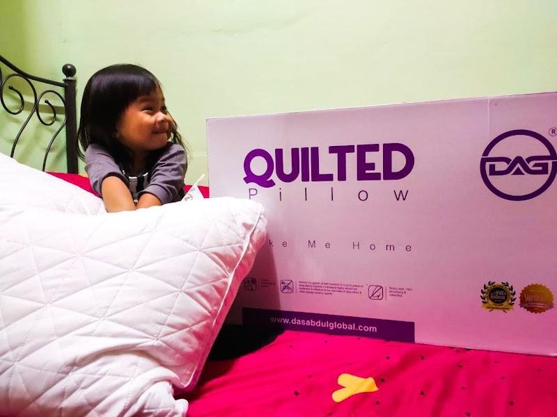 Bantal Quilted DAS Abdul Global (DAG) Bantu Aku Tidur Lebih Lena