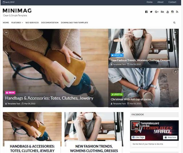 MiniMag Free Blogger Templates