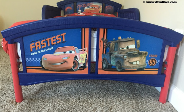 Disney Pixar Cars Bed