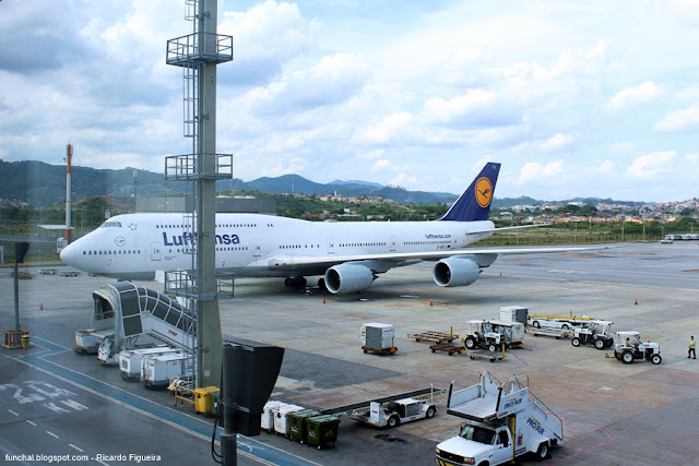 BOEING 747-830 - D-ABYJ - GUARULHOS - SÃO PAULO - BRASIL