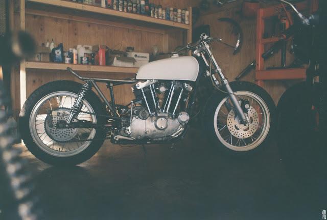 Harley Davidson XLCH Sportser 1975 độ Street Tracker