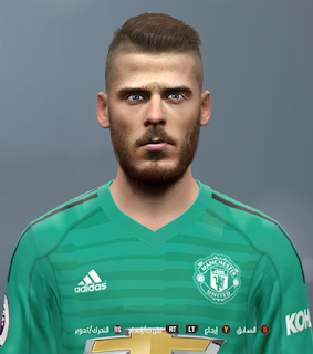 PES 2017 Faces David de Gea by Youssef Facemaker