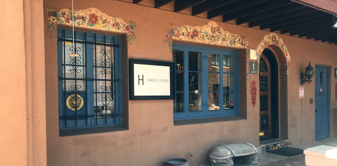 The front door of Harold Studio