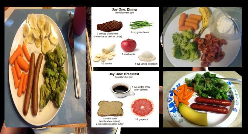 Cara Diet military atau diet ala militer