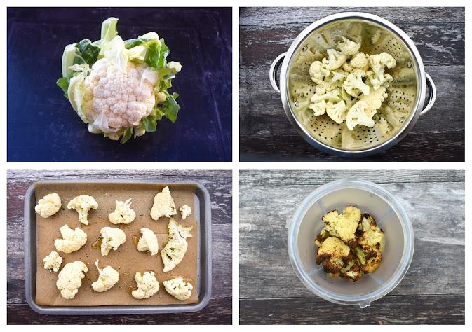 Making Cauliflower & Chickpea Pasta - step 1