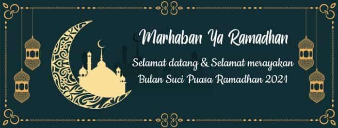 spanduk ramadhan 2021