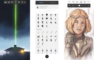 aplikasi menggambar sketchbook