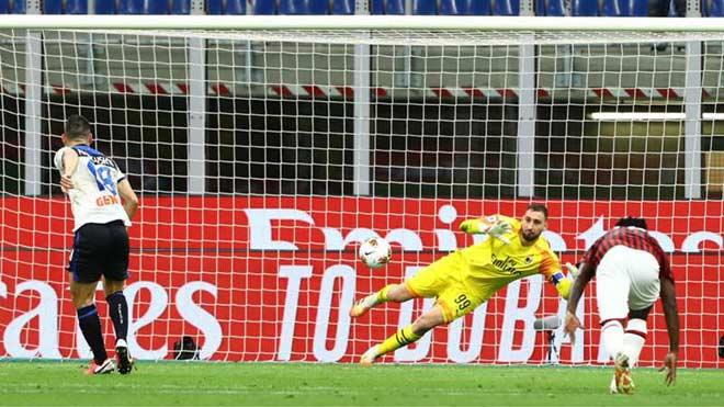Video AC Milan 1-1 Atalanta: Cửa ải khó nhằn, Ibra tức tối