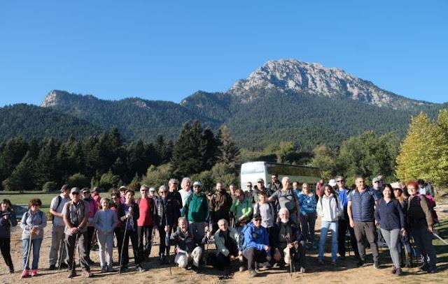 Ορειβάτες και από την Αργολίδα στη λίμνη Δόξα Φενεού και στην κορυφή Νησί της οροσειράς του Χελμού