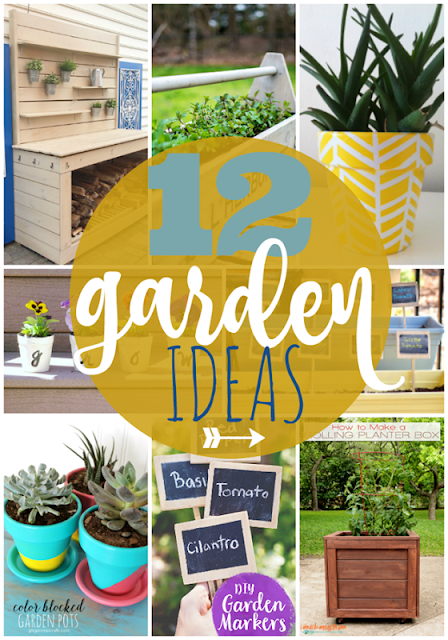 12 Garden Ideas - featuring LeroyLime's Outdoor Patio Reveal