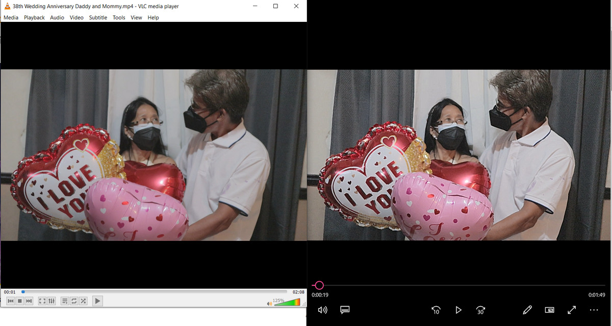 VLC Media Player vs Windows Movies and TV App, VLC Player