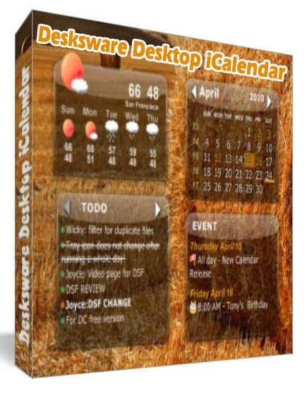Desktop iCalendar 3.2.7.532 + KeyMaker