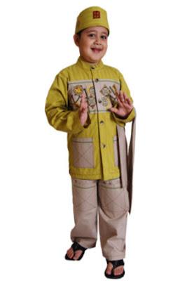 baju muslim anak laki laki