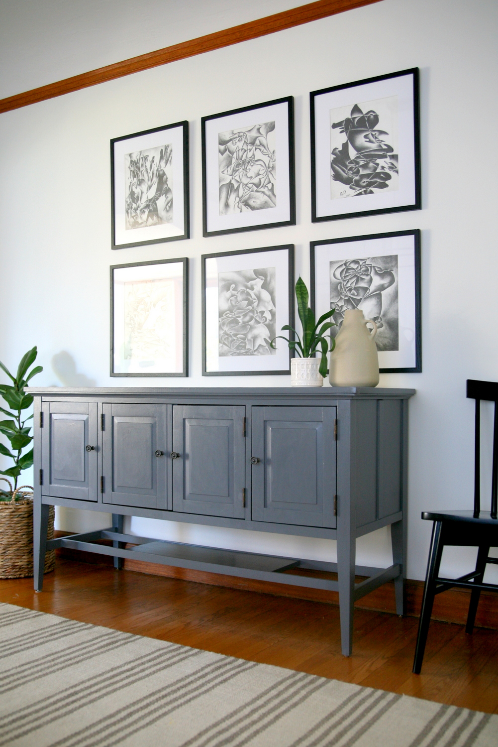 DIY dining room buffet makeover / Create / Enjoy