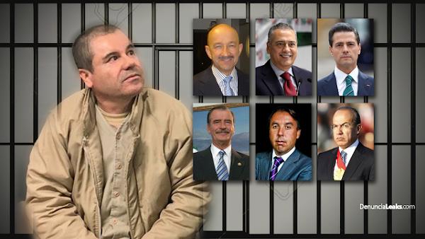 El Chapo Guzmán amaga con  delatar políticos priistas corruptos